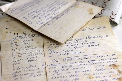 Lowering your food costs by utilizing a recipe management system handwritten recipe forumfinder Gallery